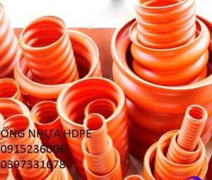 Ống HDPE, ống nhựa xoắn, ống luồn dây điện giá rẻ