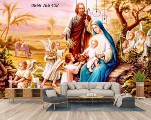 Gạch tranh-tranh 3D Công Giáo