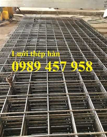 Lưới thép hàn đổ mái phi 6 ô 200x200, Lưới thép hàn đổ sàn bê tông giá tốt