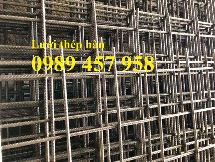 Nơi bán Lưới thép hàn phi 4 đổ sàn chống nóng, Lưới thép hàn chập phi 4 ô 150x150, 200x200, 250x250