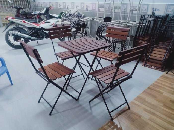 Bàn ghế cafe thanh lý giá tại xưởng sản