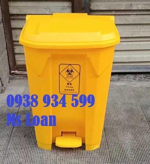 Thùng đựng rác thải y tế 30 lít, thùng đựng chất thải lây nhiễm covid-19