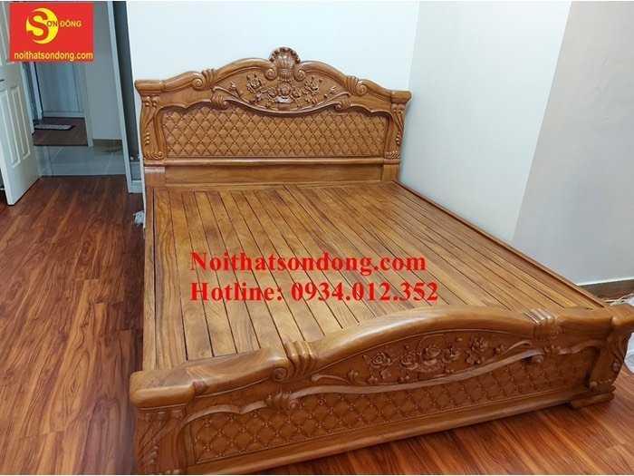 10 mẫu giường ngủ gỗ tốt hiện nay tại Sài Gòn