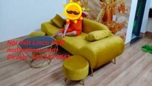 Ghế sofa màu vàng | sofa màu vàng tươi | sofa màu vàng đồng nhạt Nội thất Linco HCM tphcm sài gòn hồ chí minh quận 1 2 3 4 5 6 7 8 9 10 11 12
