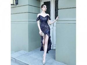 Đầm dạ hội DIVA dáng đuôi cá cao cấp SG
