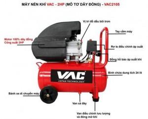 Máy nén khí VAC chính hãng
