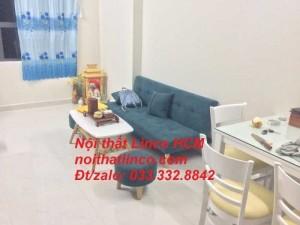Bộ ghế sofa giường giá rẻ, sofa bed mini màu xanh rêu 1m7 | Nội thất Linco Tphcm sài gòn tân bình tân phú 1 2 3 4 5 6 7 8 9 10 11 12