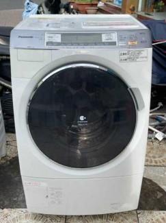 Máy giặt Panasonic NA-VX7100 date 2012 giặt 9kg sấy 6kg, chống nhăn, Tiết kiệm điện, nanoe, econavi