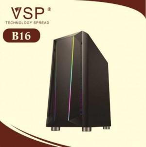 Vỏ thùng Case VSP B16 Gaming Led RGB chính hãng - Chưa có Fan