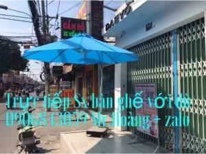 Dù Cafe che nắng Dù chính tâm, lệch tâm, dù tròn- Nội Thất Nguyễn Hoàng