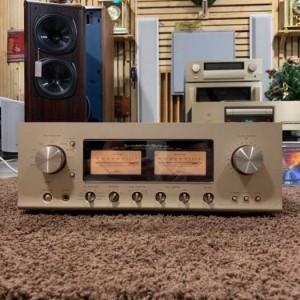 Ampli: LUXMAN L-509S ( vỏ piano )