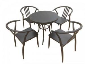 Bộ bàn ghế Whish bone sắt sơn tĩnh điện