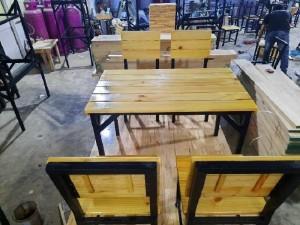 Bộ bàn ghế nhà hàng,quán ăn giá rẻ
