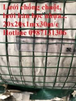 Lưới mạ kẽm phi 2 ô 25x25, 50x50, PHi 3 ô 50x50 giá tốt