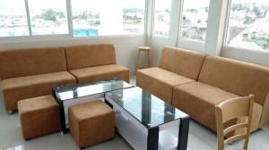 Ghế sofa da phòng khách hiện đại giá rẻ HGH119