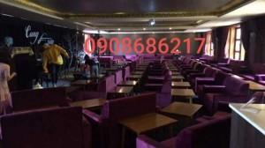 Ghế sofa cafe giá rẻ nhất HGH120