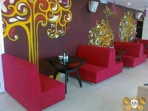 Sofa quán ăn sang trọng, hiện đại giá rẻ nhất HGH125