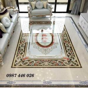 Gạch thảm lát phòng khách HP1141