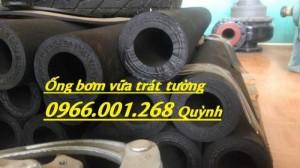 Công dụng và cấu tạo của ống cao su phun vữa, ống bơm bê tông phi 40*75 dài 93cm tới 1m5