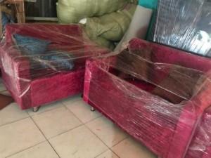 Sofa vải nhung giá rẻ Hồng Gia Hân 139