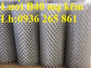 Lưới B40( lưới mắt cáo) dây 2.7ly, 3ly, 3.5ly ô lưới 50x50, 60x60, 70x70 khổ 1m, 1m2, 1m5, 1m8, 2m hàng có sẵn