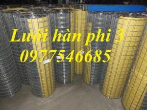 Lưới hàn phi 3 mắt lưới 50x50mm,lưới hàn phi 4 ô lưới 50x50 sản xuất theo yêu cầu