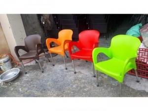 Ghế inox giá rẻ đủ màu
