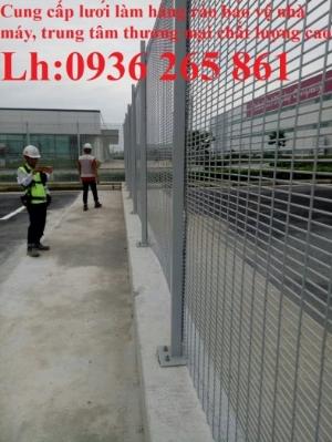Hàng rào lưới thép hàn thẳng D4, D5, D6 ô lưới 50x100, 50x150, 50x200, 100x200, 75x200 chất lượng cao