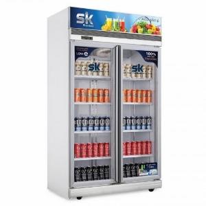 Tủ Mát SK Sumikura SKSC-1200FC2 1100 Lít Dàn Đồng 2 Cửa Không Đóng Tuyết