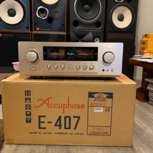 Ampli Accuphase E-407