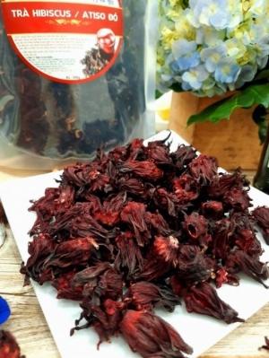 Trà atiso đỏ (hibiscus, bụp giấm, lạc thần) - Good Heart