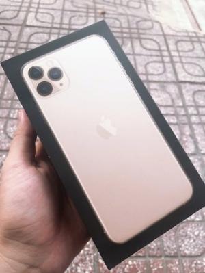 IPhone 11 Promax 64G Gold Qtế 2 Sim