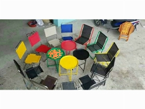 Bàn ghế mini xếp cao cấp Ak 0002