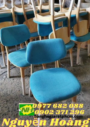 Ghế gỗ bọc nệm Nội Thất Nguyễn Hoàng Sài Gòn