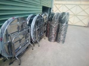 Ghế inox giá sỉ tại xưởng sản xuất anh k