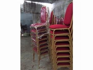 Ghế sắt gỗ nệm nhà hàng giá rẻ
