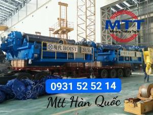 Palang cáp điện mẹ bồng con 200 tấn và 50 tấn hyundai