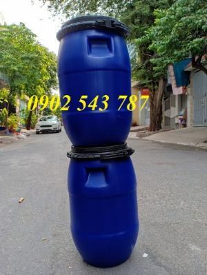 Thùng phuy nhựa 30 lít đựng hóa chất
