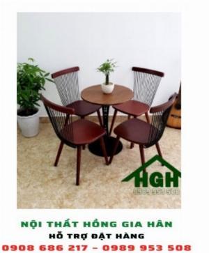 Bộ bàn ghế cafe Hồng Gia Hân 15
