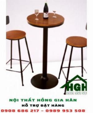 Bàn ghế cafe không tựa HGH22