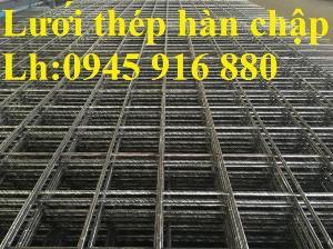 Lưới thép hàn cường lực đổ sàn bê tông phi4 ô lưới 50x50, 100x100, 150x150, 200x200 chất lượng cao