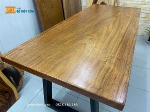 Mặt bàn gỗ Lim xanh (lim tali) dài 1,8m