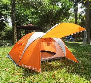 Lều dã ngoại 2 khoang cho 3-4 người Gazelle GL1313
