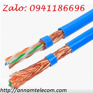 Cáp mạng Cat7 SFTP bọc bạc lưới đồng chống nhiễu