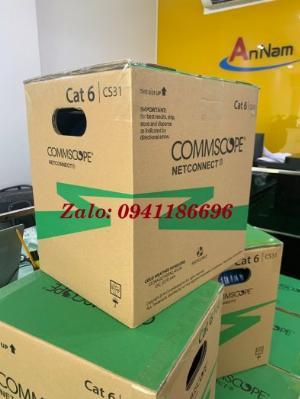 Phân phối Cáp mạng CommScope AMP Cat6 UTP mã 1427254-6 chính hãng
