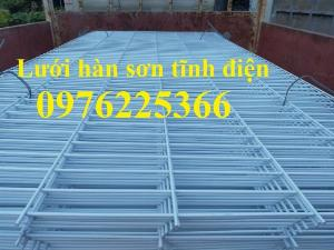 Lưới thép hàn sơn tĩnh điện D2, D3, D4, D5, D6 theo yêu cầu