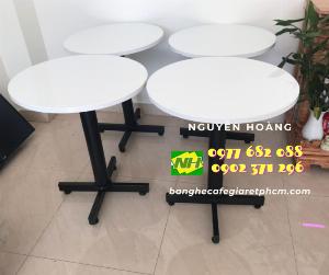 Ghế đá chân sắt Nội Thất Nguyễn Hoàng Sài Gòn