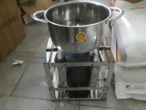 Máy xay thịt làm giò chả làm xúc xích 900w inox