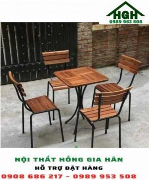 Bộ bàn ghế cafe HGH16