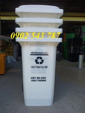 Thùng rác 240 lít giá rẻ tại công ty Bảo Sơn